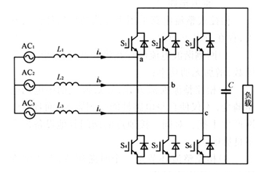 电压型三相桥式整流电路